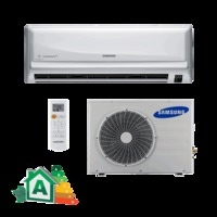 Ar Condicionado Split Hi-Wall Samsung Max Plus AR09HCSUBWQNAZ AR09HCSUBWQXAZ 9.000 BTUs Frio 220V