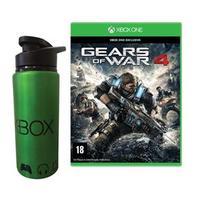 Jogo Gears Of War 4 Xbox One Microsoft + Squeeze de Metal Microsoft Xbox