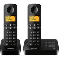 Telefone sem Fio Philips D2152B/BR