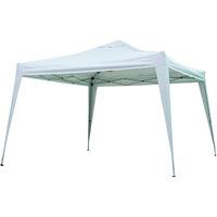 Gazebo Quadrado Mor Têxtil X-Flex Branco 300x300cm