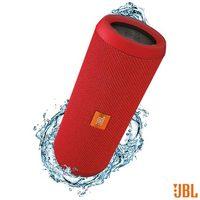 Caixa de Som JBL para Aparelhos com Conexão Bluetooth e P2 FLIP3 Vermelho