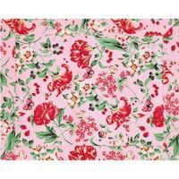 Lugar Americano Aroeira Home Framboesa Rosa Floral 45x35cm