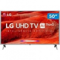 "Smart TV 4K LED 50"" LG 50UM7500PSB"