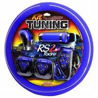 Kit Tuning Luxcar Sport 4 Peças Azul