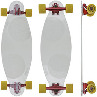 Longboard X7 Glass Transparente
