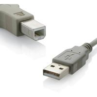 Cabo de Impressora Multilaser WI274 USB 2.0 A Macho X B Macho 5M