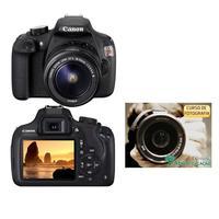 Câmera Digital Canon EOS Rebel T5 18MP + Curso Como Fotografar Bem