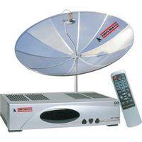 Antena e Receptor Analógico Digital Amplimatic ET 7100