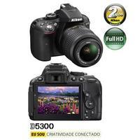 Câmera Digital Nikon D5300 24.2MP Preta