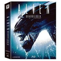 Alien Quadrilogia Blu-Ray 4 Discos - Multi-Região / Reg. 4