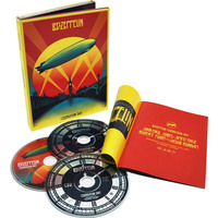 Combo Led Zeppelin Celebration Day DVD+CD Duplo Multi Região Reg. 4