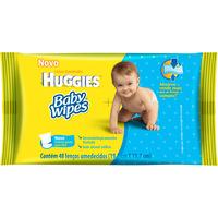 Lenços Umedecidos Huggies Baby Wipes 48 unid
