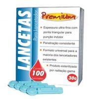 Lanceta Premium 30g para Lancetador com 100 unidades