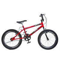 Bicicleta Colli Bike Cross Free Ride Extreme 110/16 36 Raias Aro 20 Vermelha
