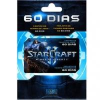 Card Time Starcraft II Wings of Liberty 60 Dias Battle.net