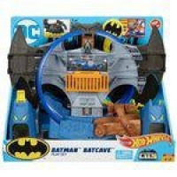 Hot Wheels Pista E Acessorio Batman Batcaverna Playset Gbw55 Mattel
