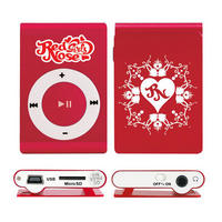 Mp3 Player Red Nose Girls 8GB sem visor Vermelho