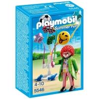 Playmobil Parque de Diversões Palhaço com Balão 5546