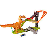 Pista Mattel Hot Wheels Ataque do T-Rex X4280
