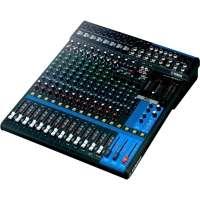 Mesa de Som Yamaha 16 Canais Conector xlr Ipad MG16XU