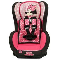 Cadeira Para Auto Disney Cosmo SP Minnie Mouse 399604 Rosa e Preta Sem Base