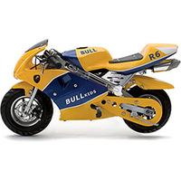 Mini Moto Bull Motors Speed BK-R6 49CC 2T Amarela