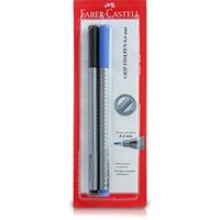Caneta Faber Castell Finepen Azul e Preta