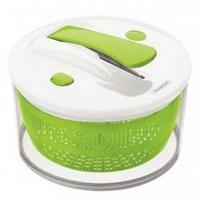 Centrífuga Para Salada Tramontina Agile Multiuso Branca e Verde