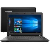 Notebook Lenovo Ideapad 100 80R7004VBR Dual Core N2840 2.16Mhz 4GB 500GB Windows 10
