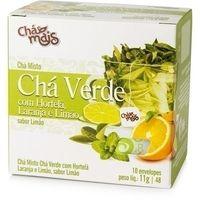 Chá Mais Verde Hortelã Laranja e Limão 10 Sachês