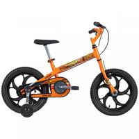 Bicicleta Caloi Power Rex Aro 16 Laranja 1 Marcha