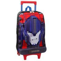 Mochilete Pacific Transformers 933H01 Tamanho G Azul e Vermelha