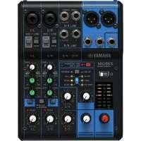 Mesa de Som Yamaha 6 canais com Efeito MG06X