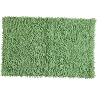 Tapete Para Banheiro Sul Brasil Soft 100% Algodão 50x80cm Verde Escuro