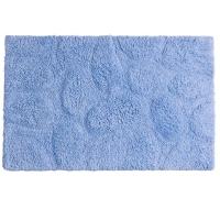 Tapete Para Banheiro Sul Brasil Soft 100% Algodão 50x80cm Azul