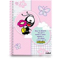 Caderno Pequeno Credeal Smilinguido e Borboletas