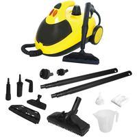 Máquina de Limpeza e Higienizador Intech Machine Vapor Clean Amarela e Preta 110V