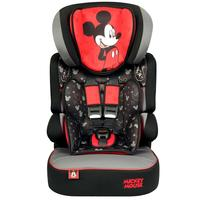 Cadeira Para Auto Disney Beline SP Mickey Mouse Preta