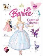 Barbie Contos de Princesas - 60 Adesivos