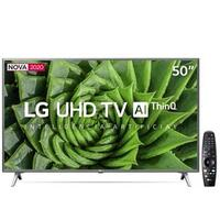 Smart TV LED 50 UHD 4K LG 50UN8000PSD com Wi-Fi Bluetooth HDR