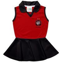 Vestido Infantil Torcida Baby Atlético Paranaense