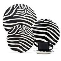 Aparelho de Jantar Chá e Sobremesa Oxford Zebra Daily JM38 6753 20 Peças