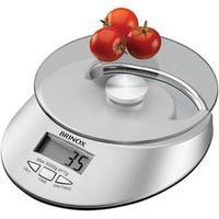 Balança Digital com Relógio para Cozinha 5Kg Brinox