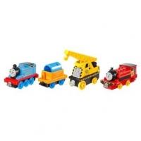Conjunto 4 Locomotivas Viagem O Thomas & Friends Fisher-price