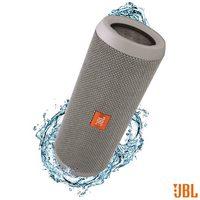 Caixa de Som JBL para Aparelhos com Conexão Bluetooth e P2 FLIP3 Cinza