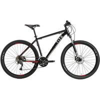 Bicicleta Tito Bikes Edge Moutain Bike 27 Marchas Aro 17 Preta e Vermelha