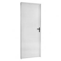 Porta De Abrir Lambri Mgm 8cm X 70cm X 2,10 Esquerda Branco