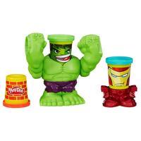 Massinha Play-Doh Esmaga Hulk Marvel Hasbro