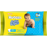 Lenços Umedecidos Huggies Baby Wipes 96 Unidades