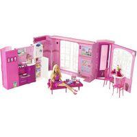 Casa da Barbie c/ Boneca 2009 Mattel